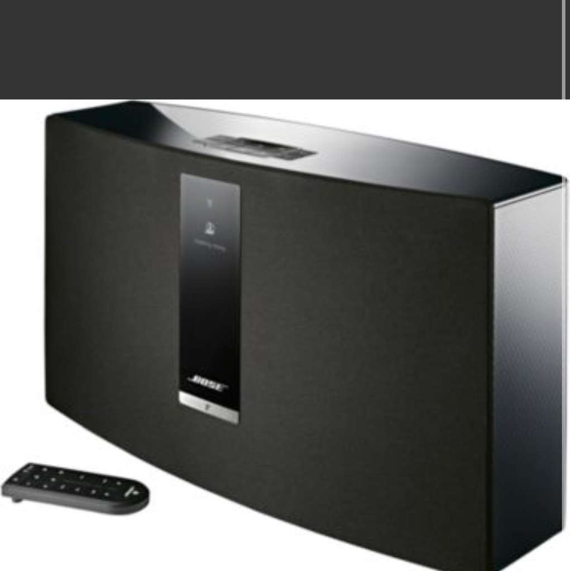enceinte multiroom bose soundtouch 30 iii noir. Black Bedroom Furniture Sets. Home Design Ideas