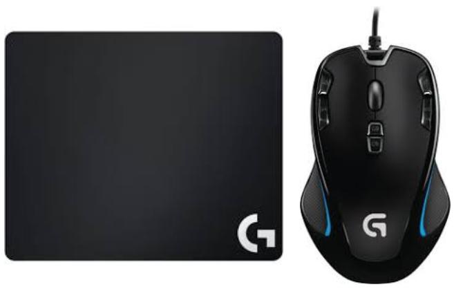 Souris Gaming Logitech G300s Tapis De Souris G240 Via 20 36 Sur La Carte Waaoh