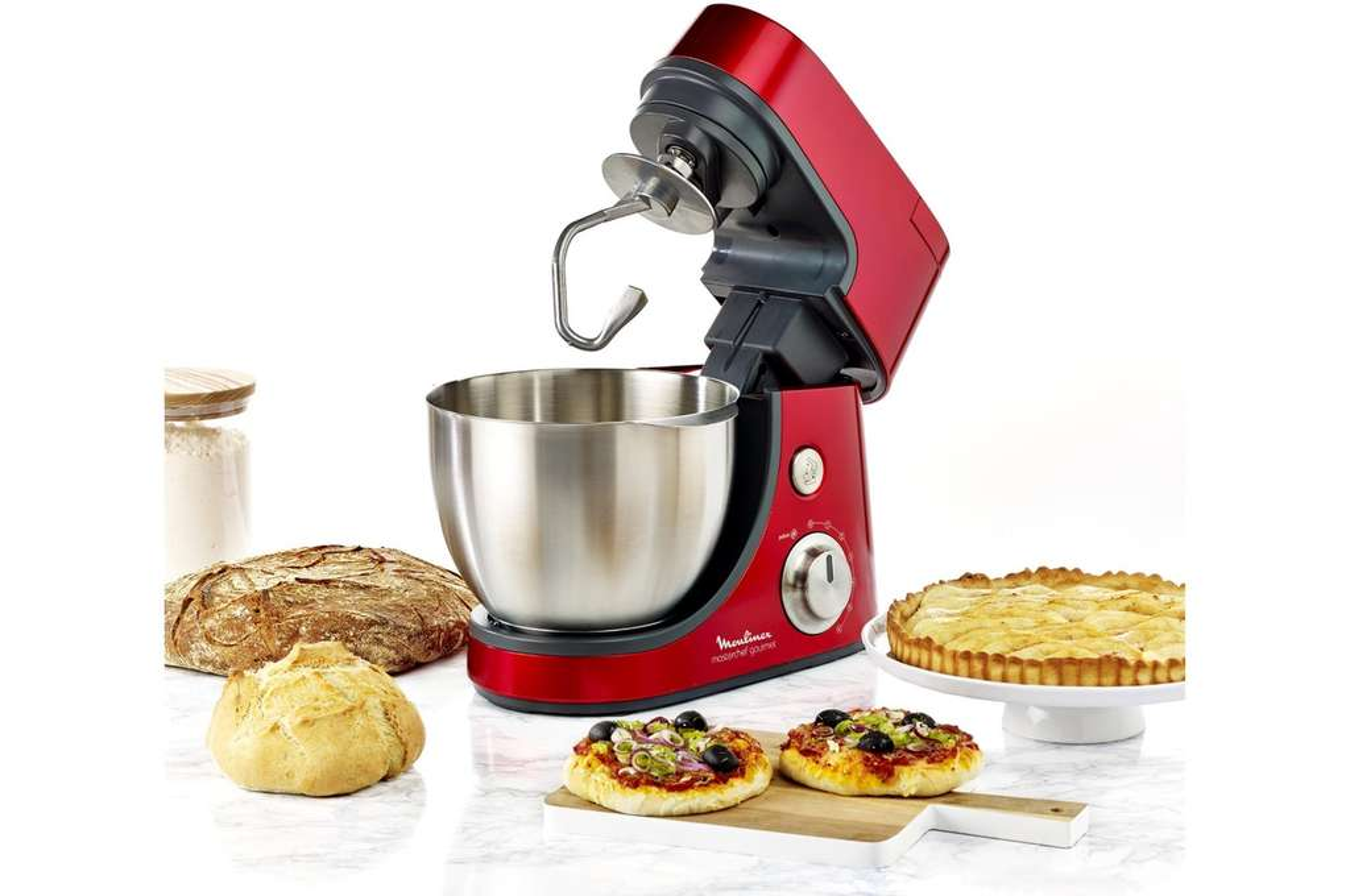 Robot p tissier moulinex masterchef gourmet qa506gb1 - Livre recette robot patissier ...