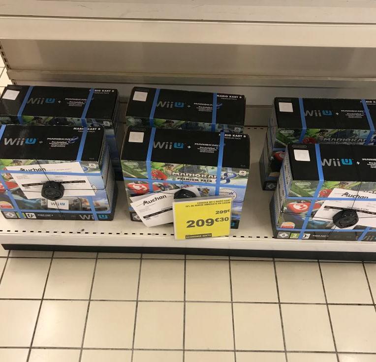 Console Nintendo Wii U Premium + Mario Kart 8 Auchan le