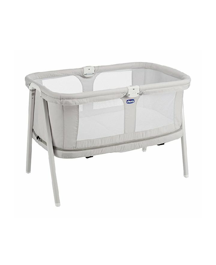 berceau chicco lullago zip gris clair. Black Bedroom Furniture Sets. Home Design Ideas