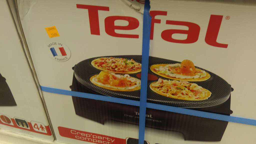 appareil tefal crepe party compact carrefour montreuil. Black Bedroom Furniture Sets. Home Design Ideas
