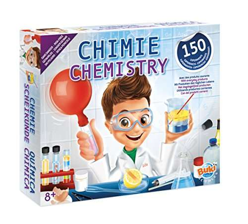 jeu scientifique buki chimie sans danger 150. Black Bedroom Furniture Sets. Home Design Ideas