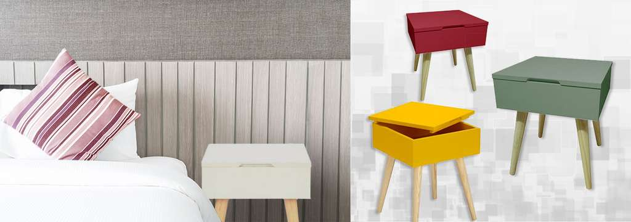 table de chevet bout de canap design scandinave. Black Bedroom Furniture Sets. Home Design Ideas