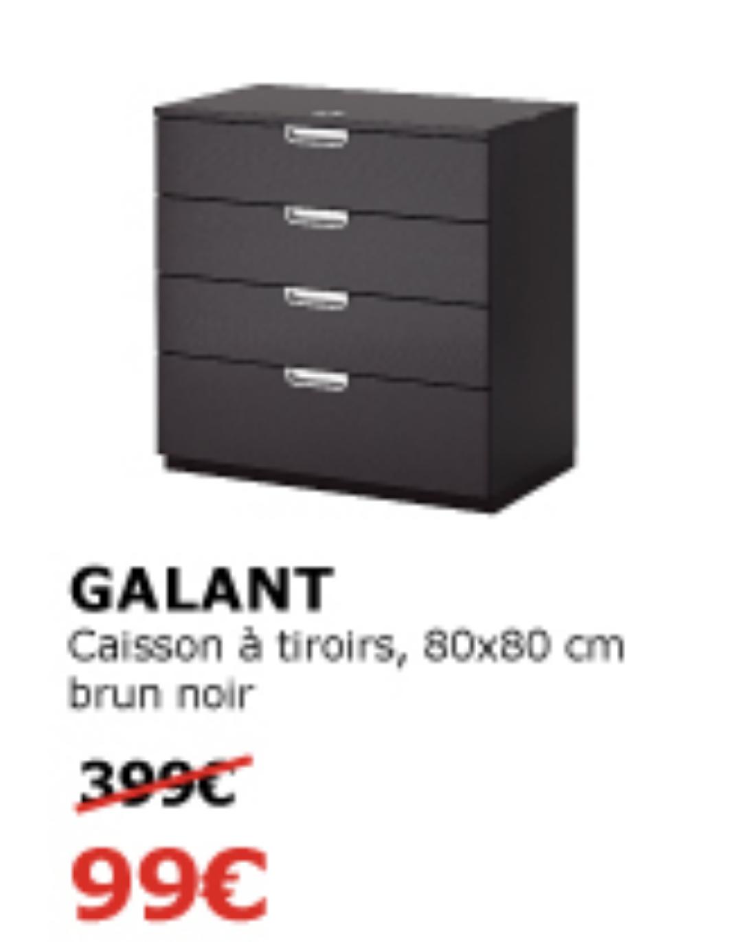 caisson tiroirs galant 80x80 cm vitrolles 13. Black Bedroom Furniture Sets. Home Design Ideas