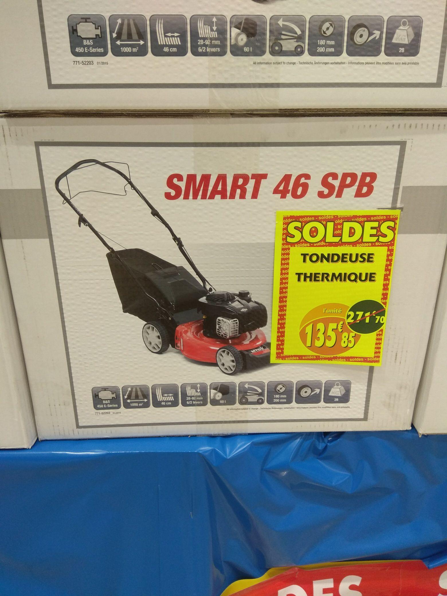 tondeuse gazon thermique smart 46 spb bonneuil sur marne 94. Black Bedroom Furniture Sets. Home Design Ideas