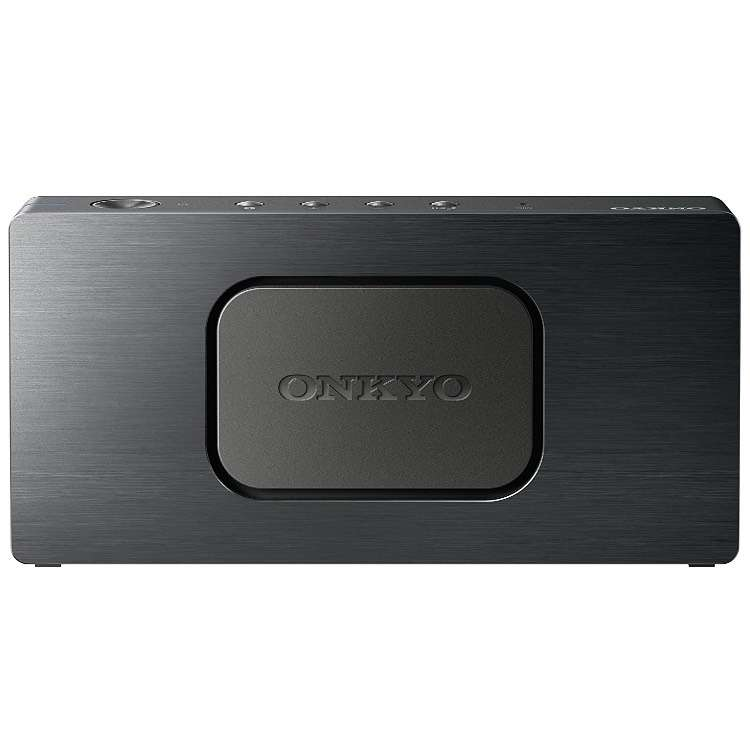 enceinte portable onkyo okat3b bluetooth powerbank usb. Black Bedroom Furniture Sets. Home Design Ideas