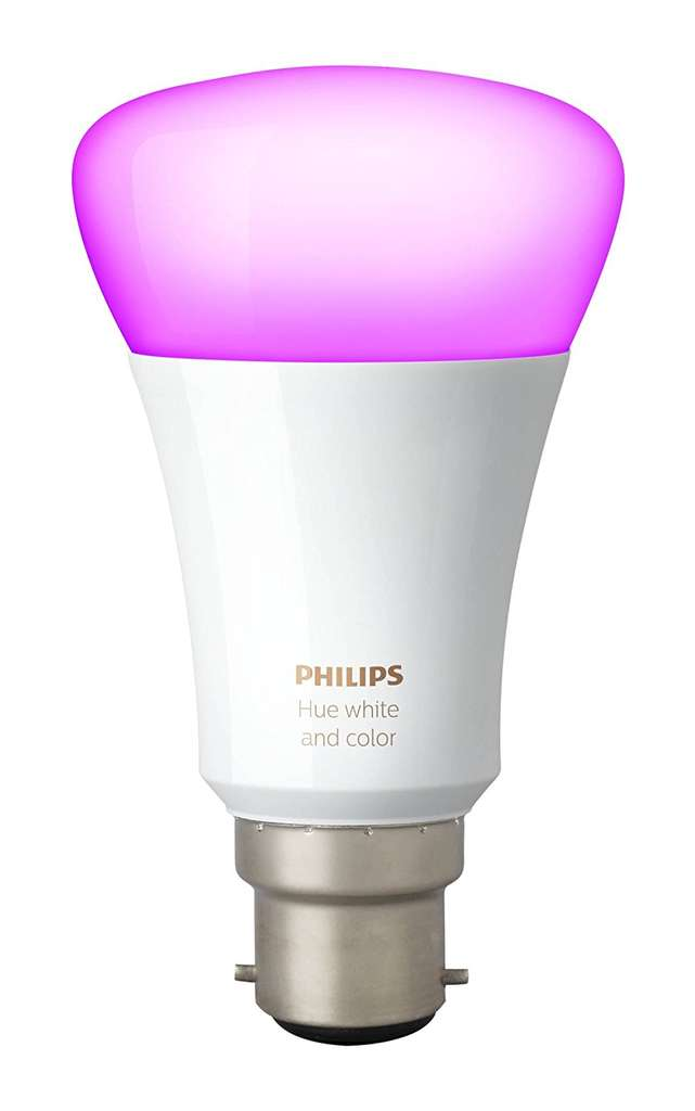Ampoule connect e philips hue white and color b22 3 me - Ampoule connectee philips ...