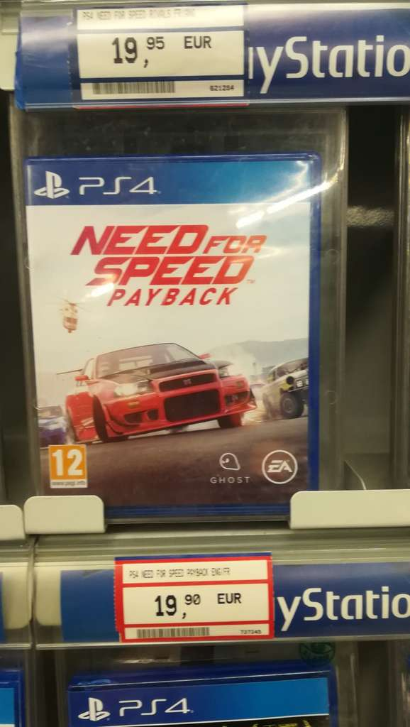 need for speed payback sur ps4 sin le noble 59. Black Bedroom Furniture Sets. Home Design Ideas