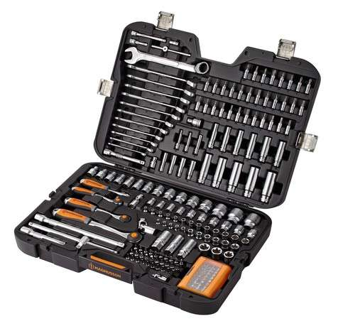 Coffret douilles magnusson 205 pi ces - Coffret outils magnusson ...