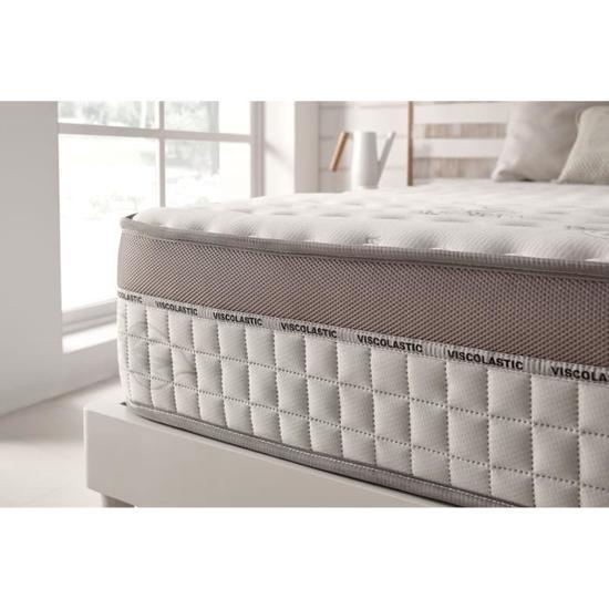 matelas extravisco en blue latex 140 x 190 cm m moire de forme style sur matelas vendeur. Black Bedroom Furniture Sets. Home Design Ideas