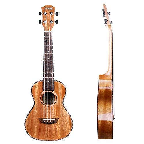 Ukulele concert 23 avec housse et cordes aquila de for Housse ukulele concert