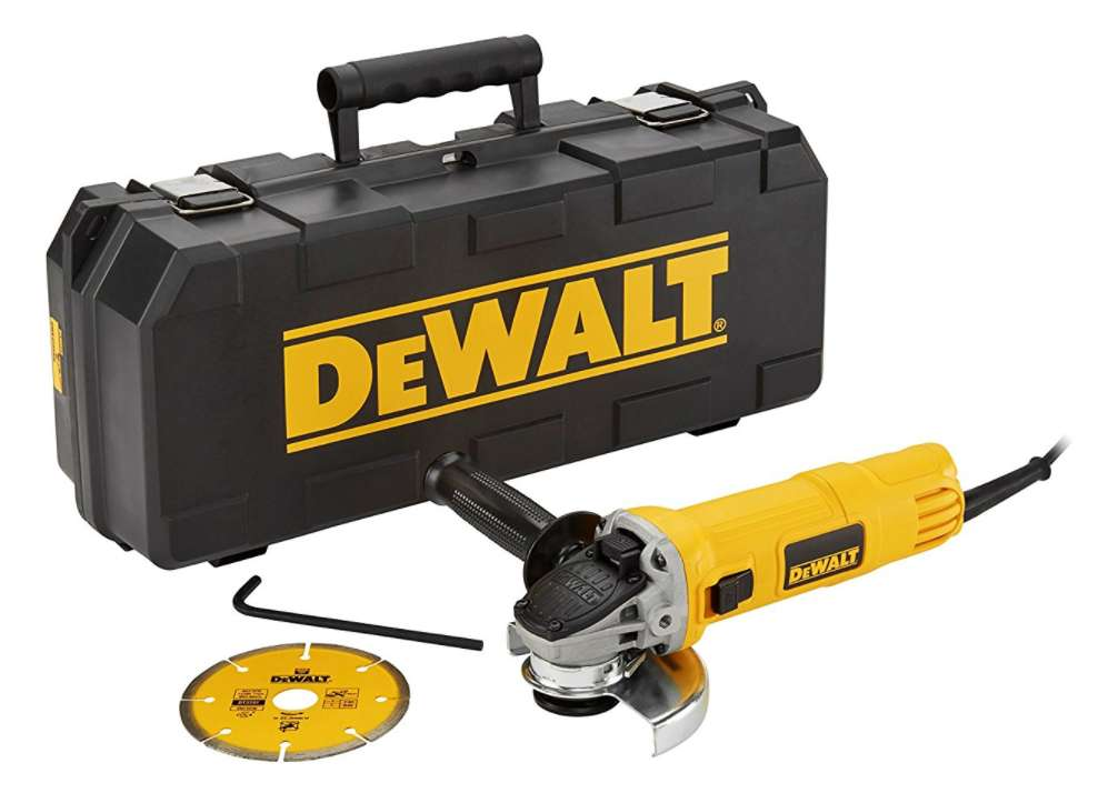 mini meuleuse dewalt 115mm dwe4156kd qs disque diamant. Black Bedroom Furniture Sets. Home Design Ideas
