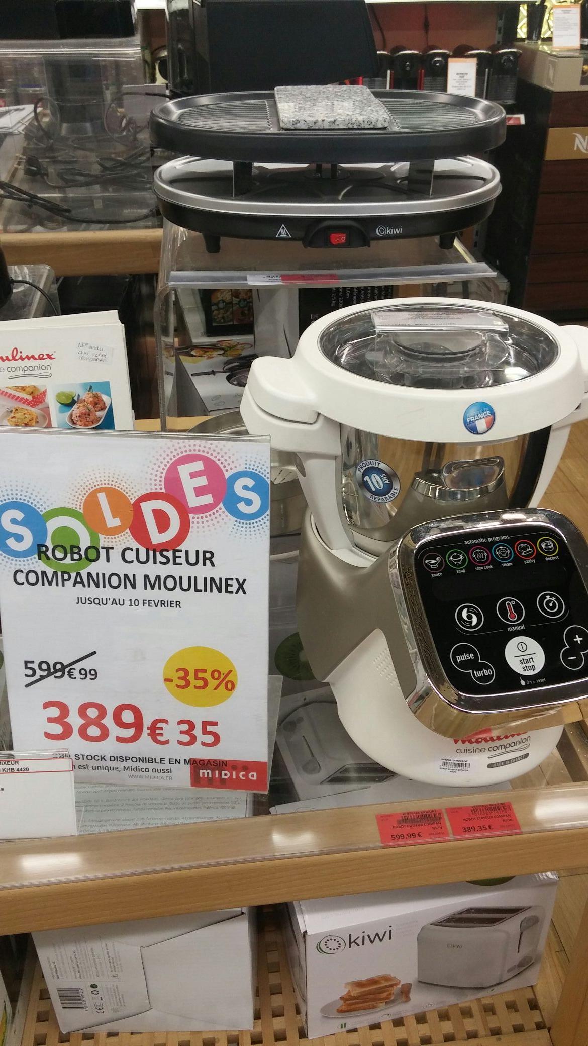 robot cuiseur moulinex companion midica toulouse 31. Black Bedroom Furniture Sets. Home Design Ideas