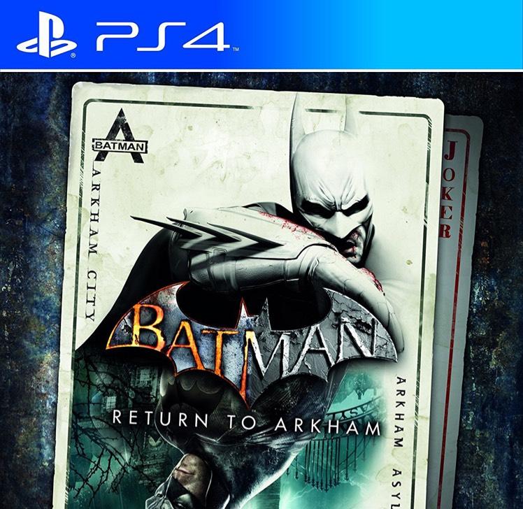 batman return to arkham sur ps4 lingostiere 06. Black Bedroom Furniture Sets. Home Design Ideas