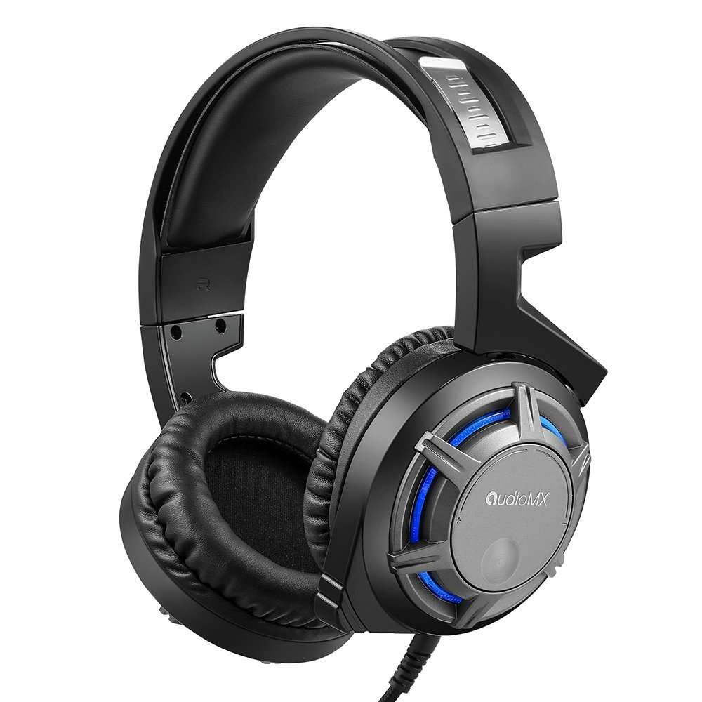 casque gaming avec micro int gr son surround audiomx vendeur tiers. Black Bedroom Furniture Sets. Home Design Ideas