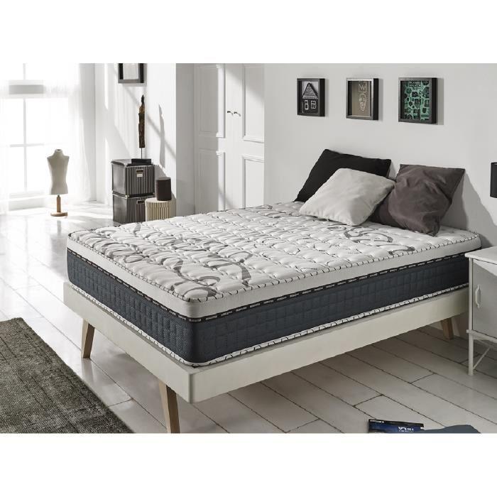 matelas m moire de forme ferme naturalex top memory 160 x 200 cm en blue latex 25 cm. Black Bedroom Furniture Sets. Home Design Ideas