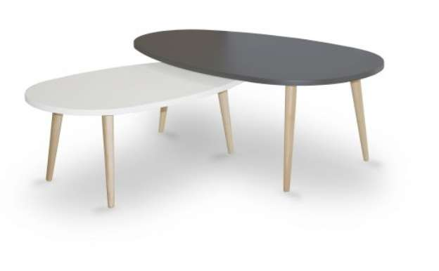 tables basses gigognes scandinaves coloris au choix usinestreet. Black Bedroom Furniture Sets. Home Design Ideas