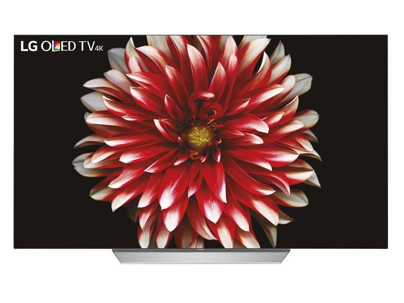tv 55 lg 55c7v 4k uhd oled via odr de 200. Black Bedroom Furniture Sets. Home Design Ideas