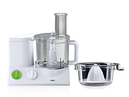 Robot multifonction braun fp3020wh blanc for Robot cuisine braun