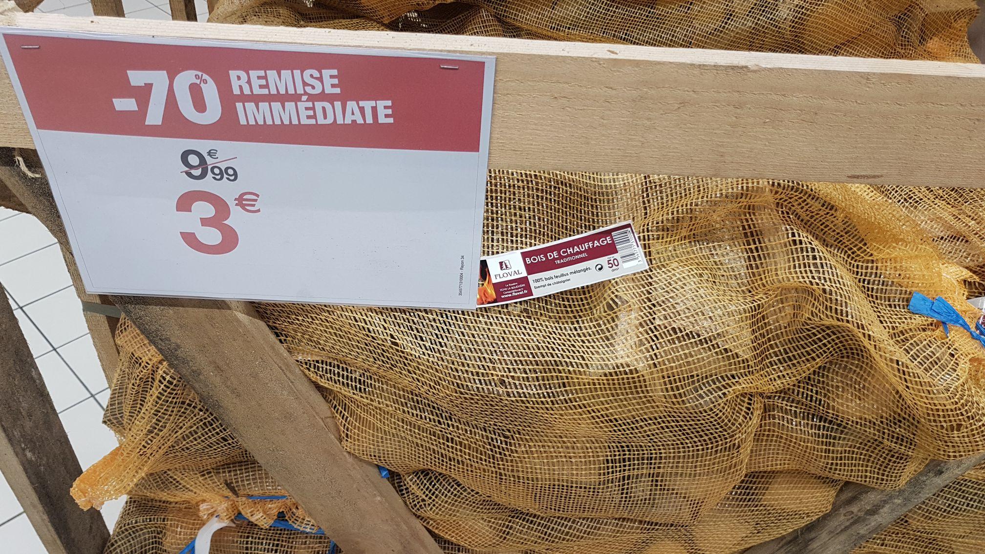 le sac de 50 dm3 de bois de chauffage traditionnel bercy 94. Black Bedroom Furniture Sets. Home Design Ideas