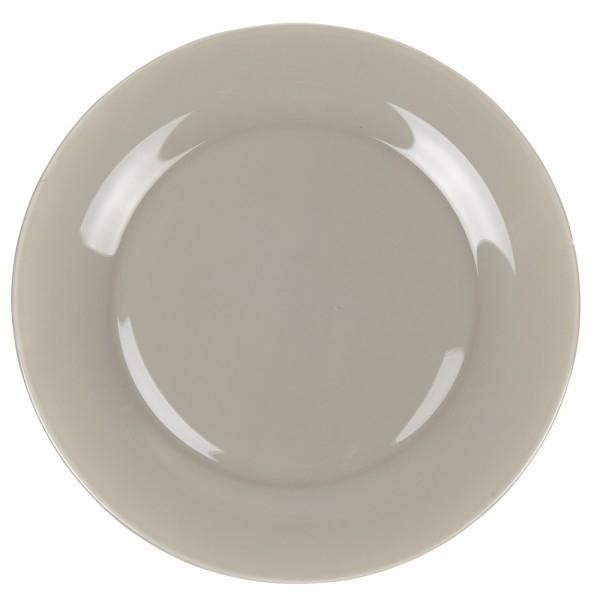 assiette plate luminarc plusieurs couleurs taupe rouge grise bleue etc. Black Bedroom Furniture Sets. Home Design Ideas