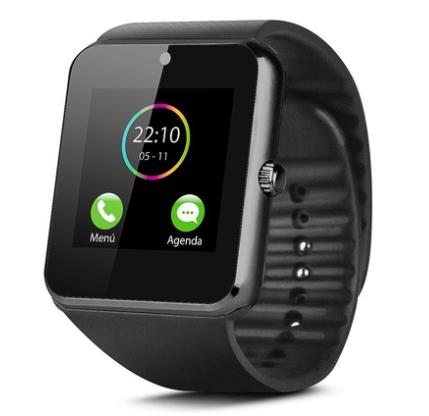 montre connect e smarttech avec tracker d 39 activit android et ios plusieurs coloris. Black Bedroom Furniture Sets. Home Design Ideas