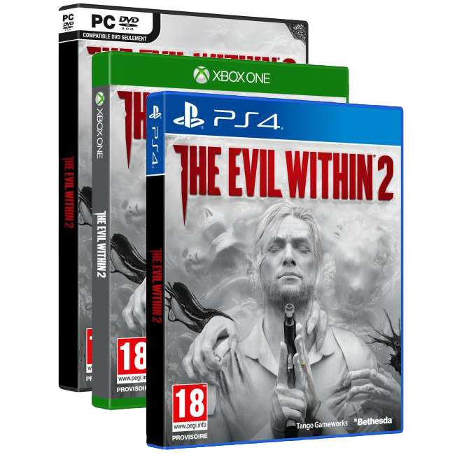 jeu the evil within 2 sur ps4 xbox one ou pc. Black Bedroom Furniture Sets. Home Design Ideas