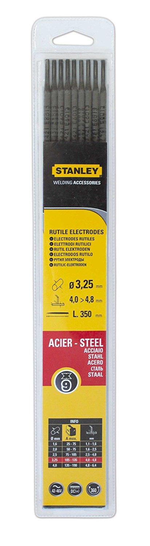 Electrode acier stanley 460732 diam tre 3 25mm 9 pi ces - Code frais de port gratuit cdiscount ...