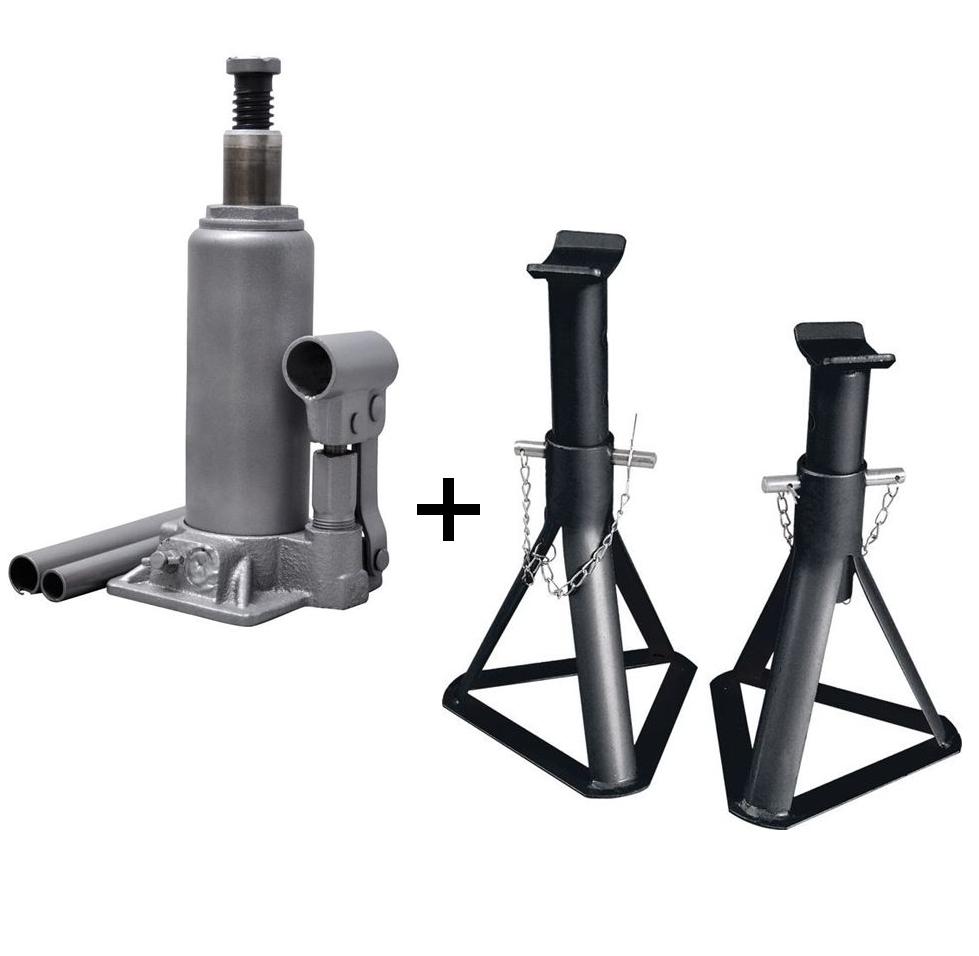 cric hydraulique bouteille 2 tonnes precision steel 2 chandelles fixes 2 tonnes offertes. Black Bedroom Furniture Sets. Home Design Ideas