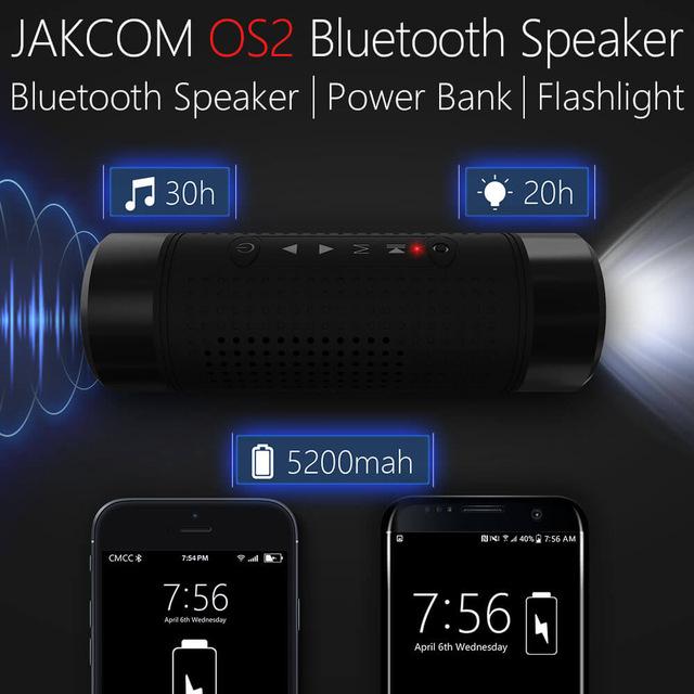 Enceinte bluetooth pour v lo jakcom os2 5200 mah lampe - Enceinte exterieure bluetooth ...