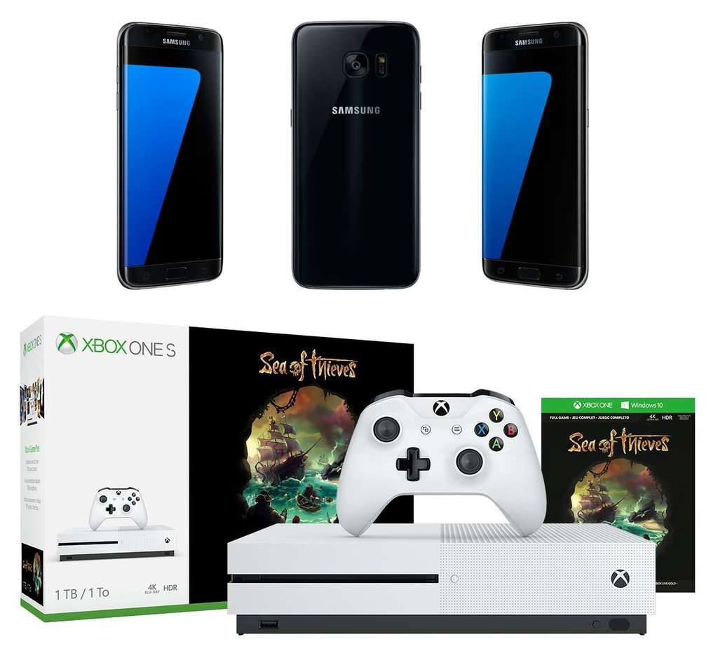 smartphone 5 5 samsung galaxy s7 edge plusieurs coloris console microsoft xbox one s 1 to. Black Bedroom Furniture Sets. Home Design Ideas