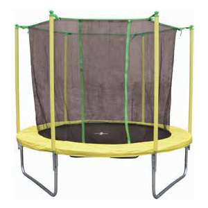 trampoline 2m44 avec filet de protection. Black Bedroom Furniture Sets. Home Design Ideas