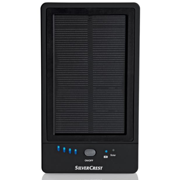 batterie externe solaire silvercrest 5000mah etanch it ipx4. Black Bedroom Furniture Sets. Home Design Ideas
