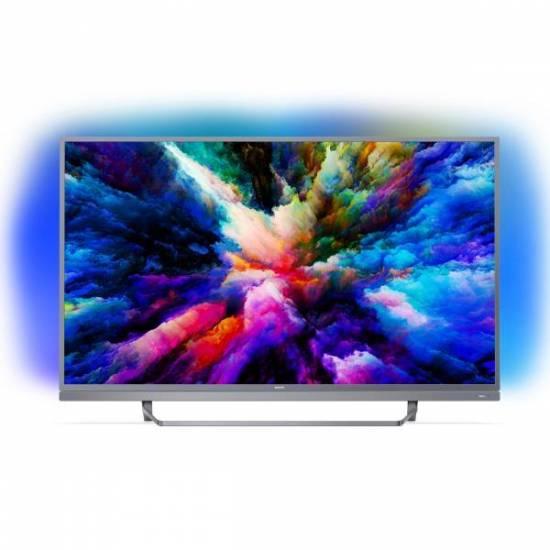 tv 55 philips 55pus7503 4k uhd led ambilight android tv. Black Bedroom Furniture Sets. Home Design Ideas