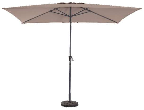parasol rectangulaire 3x2 5