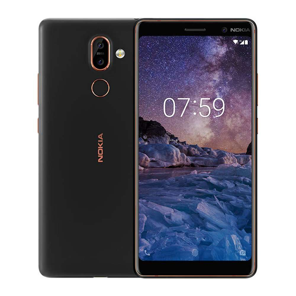 smartphone 6 nokia 7 plus full hd snapdragon 660 4 go ram 64 go rom android one 4g. Black Bedroom Furniture Sets. Home Design Ideas