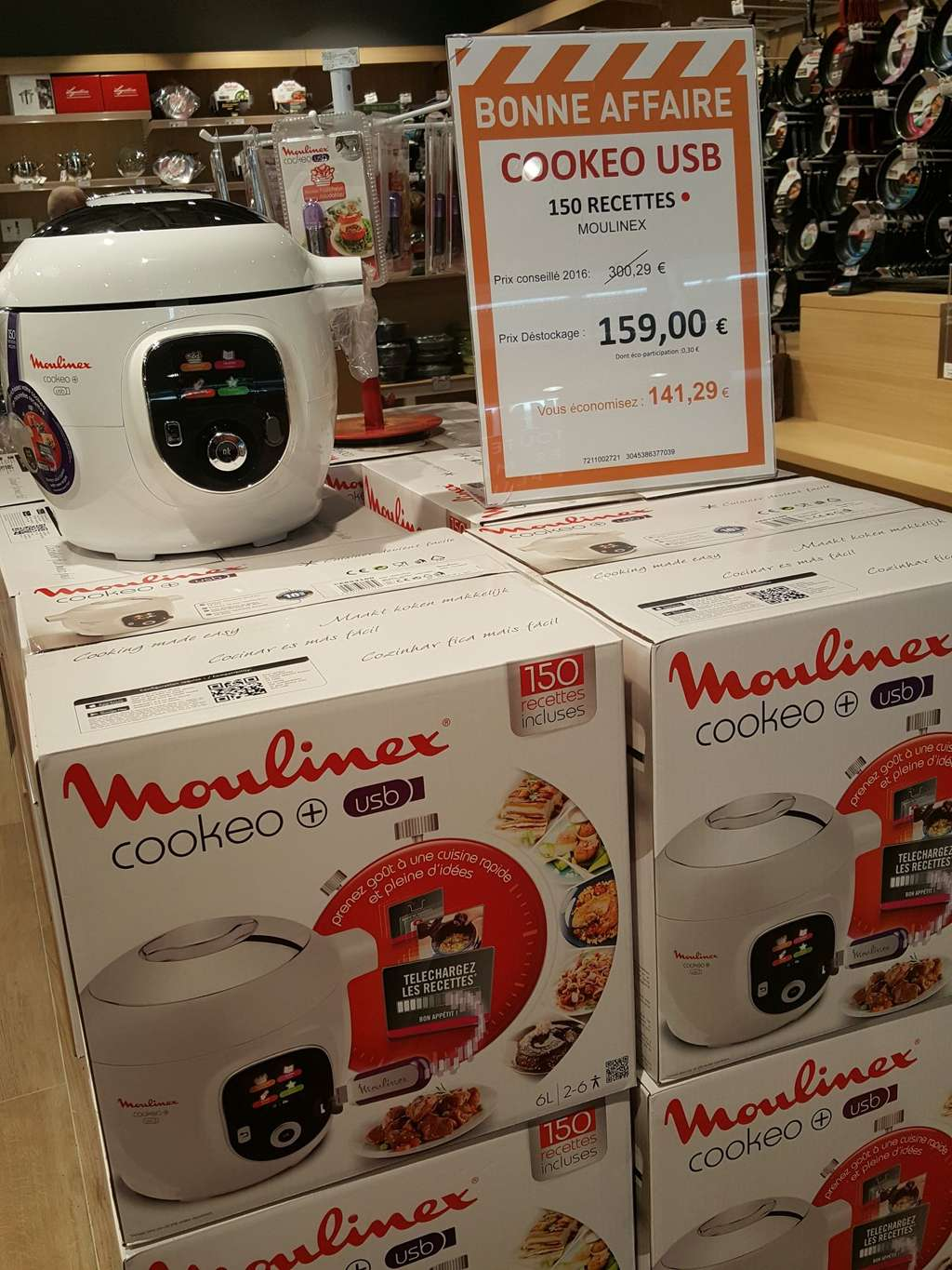 multicuiseur intelligent moulinex cookeo usb ce853100 1600w 150 recettes home cook. Black Bedroom Furniture Sets. Home Design Ideas