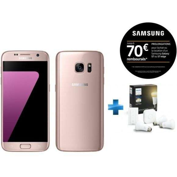 smartphone 5 1 samsung galaxy s7 plusieurs couleurs 32 go kit de d marrage hue white via. Black Bedroom Furniture Sets. Home Design Ideas