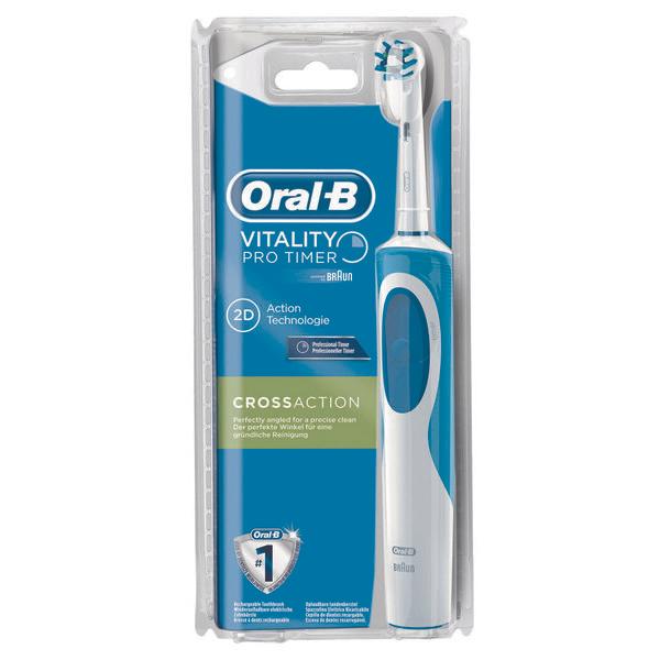 brosse dents lectrique oral b vitality via sur. Black Bedroom Furniture Sets. Home Design Ideas