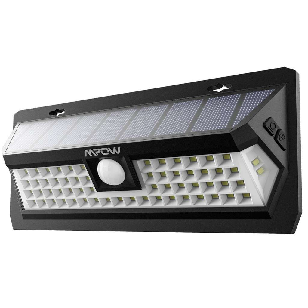 Lampe solaire ext rieur tanche mpow avec d tecteur de for Lampe detecteur de mouvement exterieur
