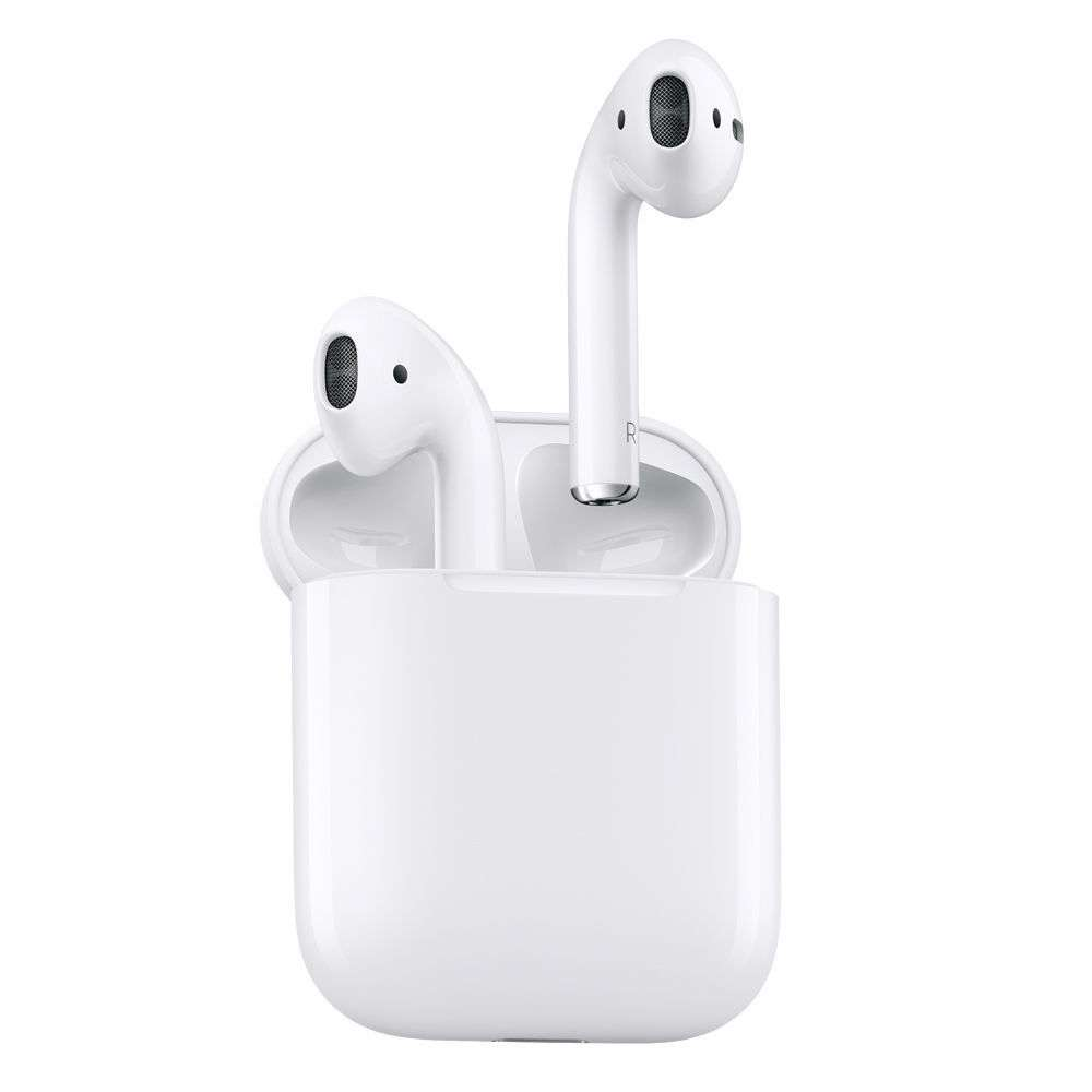 couteurs intra auriculaires apple airpods bluetooth avec micro blanc. Black Bedroom Furniture Sets. Home Design Ideas