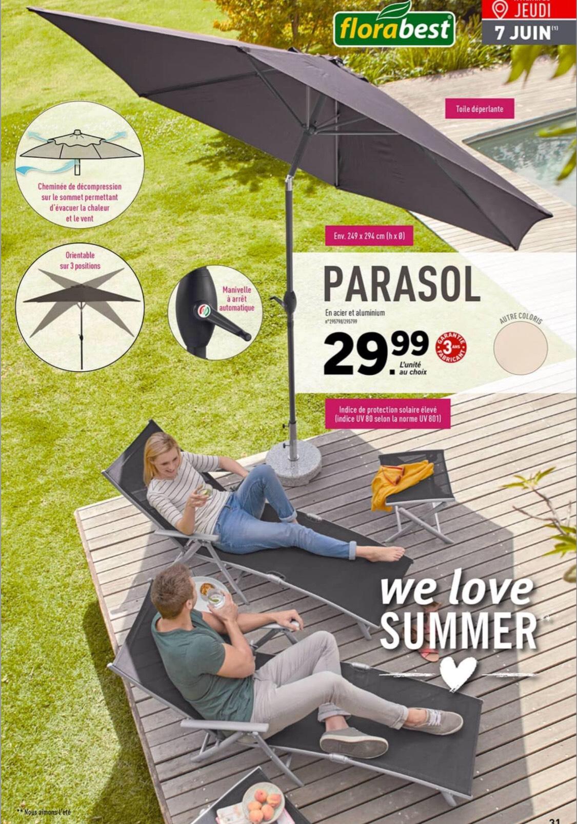 parasol florabest