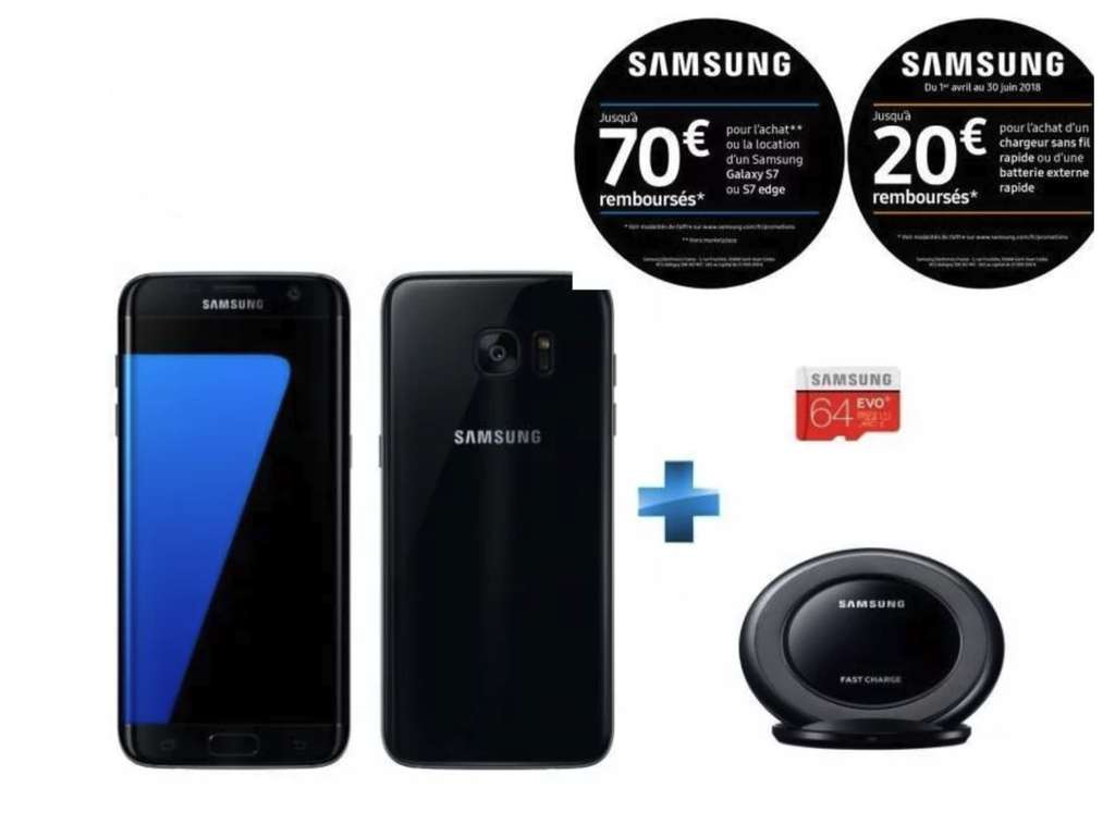 smartphone 5 5 samsung galaxy s7 edge 3 coloris 32 go. Black Bedroom Furniture Sets. Home Design Ideas