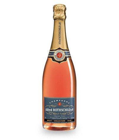 Champagne rosé 75cl Alfred Rothschild & Cie Brut (via 11
