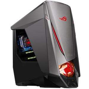 tour pc asus gamer gt51ch fr021t i7 7700 ram 16go 1to ssd 512go gtx 1080 windows 10. Black Bedroom Furniture Sets. Home Design Ideas
