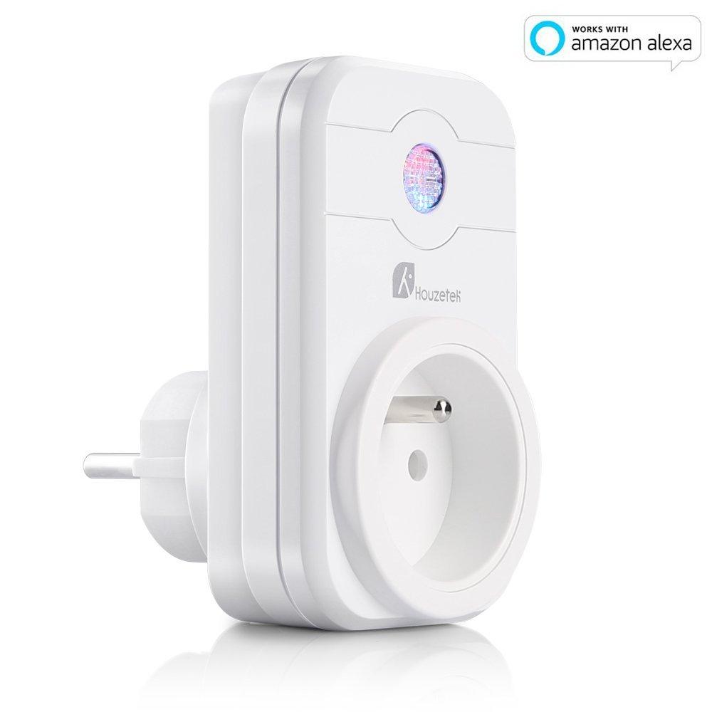 Prise connect e et programmable houzetek swa1 compatible - Prise connectee wifi ...
