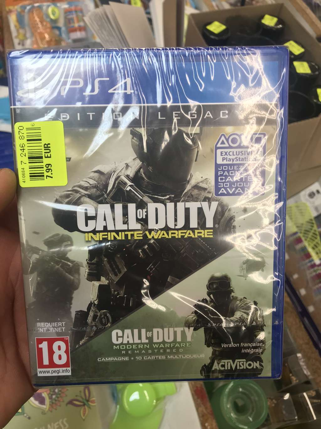 Call of duty infinite warfare edition legacy sur ps4 for Noz aquitaine