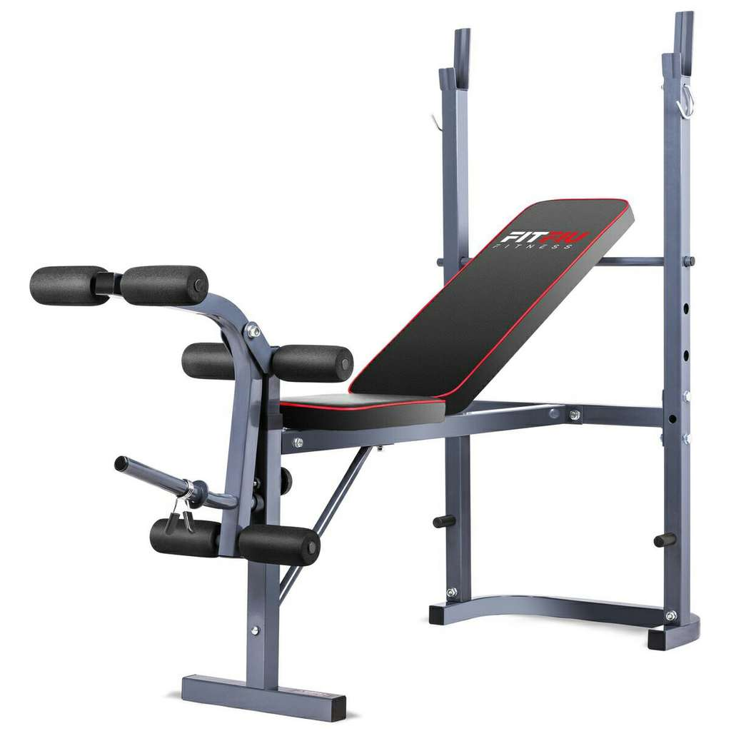 banc de musculation fitfiu pour jambes et bras. Black Bedroom Furniture Sets. Home Design Ideas