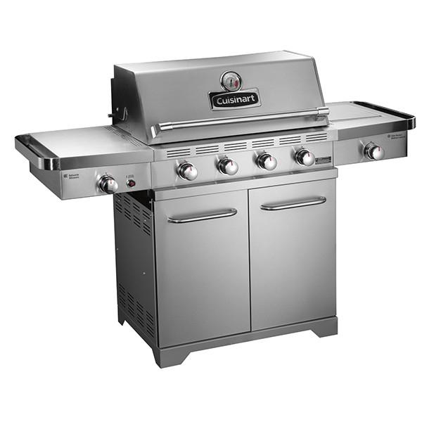 barbecue gaz cuisinart bq800e en superpoints. Black Bedroom Furniture Sets. Home Design Ideas